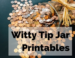 graphic relating to Printable Tip Jar Signs named Idea Jar Printable Identical Key phrases Recommendations - Idea Jar