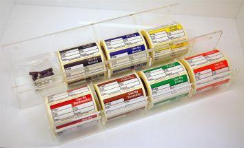 4 Pocket Label Holder (Set of 2)