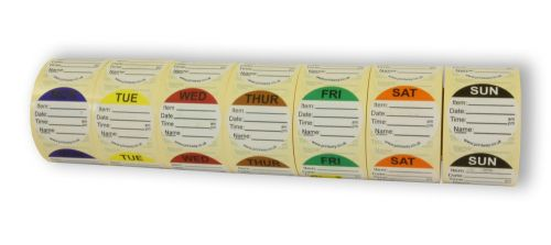 Combo Day Dots / Prep Labels - 7 Day Pack