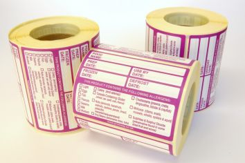 Combo Prep/Allergen Labels 95x68mm