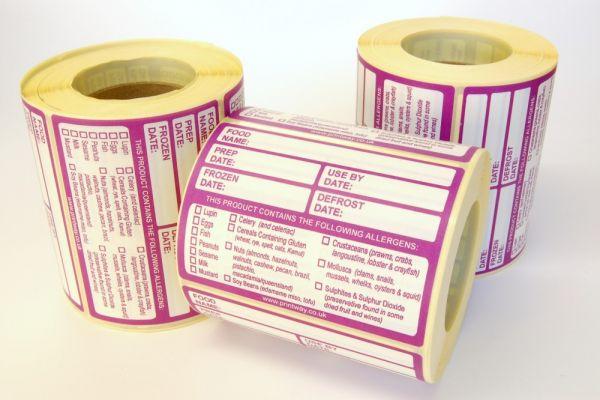 Combo Prep/Allergen Labels 95x68mm