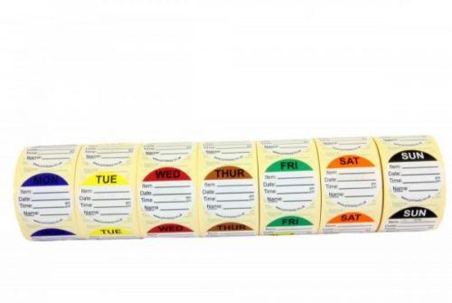 Combo Prep Labels - Ultra Peelable Adhesive