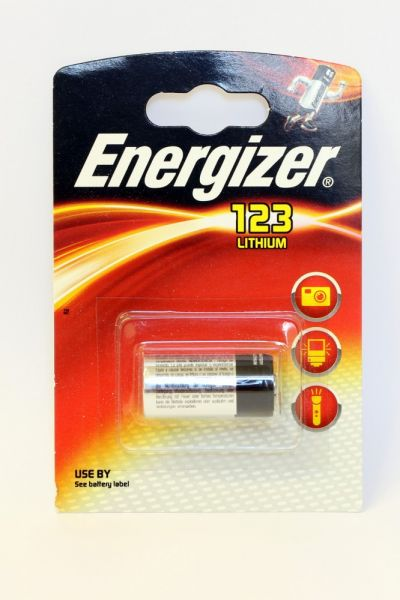 CR123a Energizer Battery