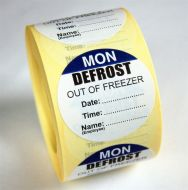 Defrost Labels - Monday