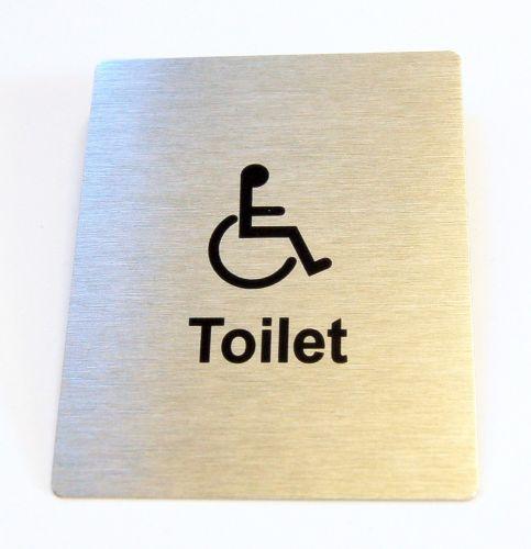 Generic Aluminium Disabled Sign (80 x 100mm)