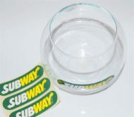 Glass Logo Fishbowl