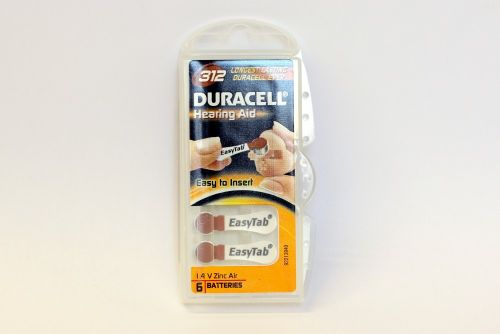 Hearing Aid Battery - 312