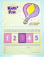 Kids Pak Club Card (1000)