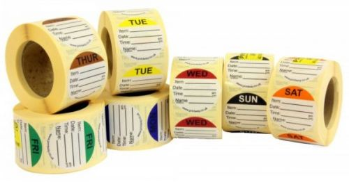 Combo Prep Labels - Soluble Adhesive
