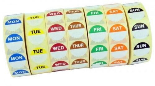 Mini Day Dots (1000 roll) - Soluble Adhesive