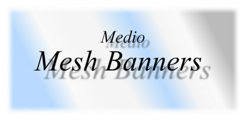 Mesh (Windflow) Banners For Medio Wrap