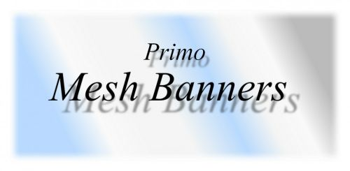 Mesh (Windflow) Banners For Primo Wrap