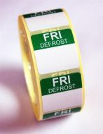 Mini Defrost Labels - Friday