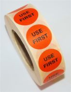 Mini Use First (25mm) 1000 Per Roll - Soluble Adhesive