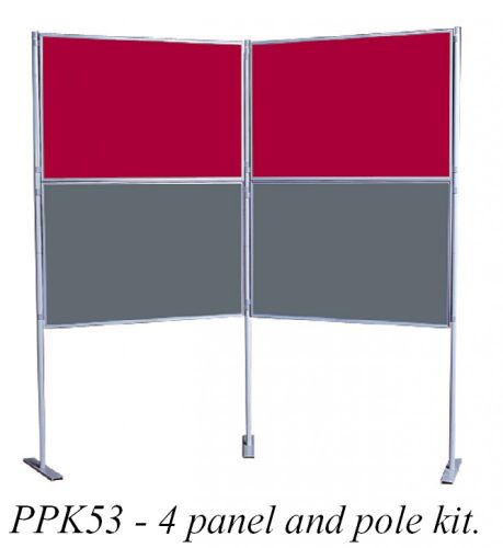 4 Panel and 6 Panel Pole Kits