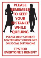 Queuing Poster