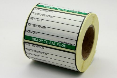 Ready To Eat Label