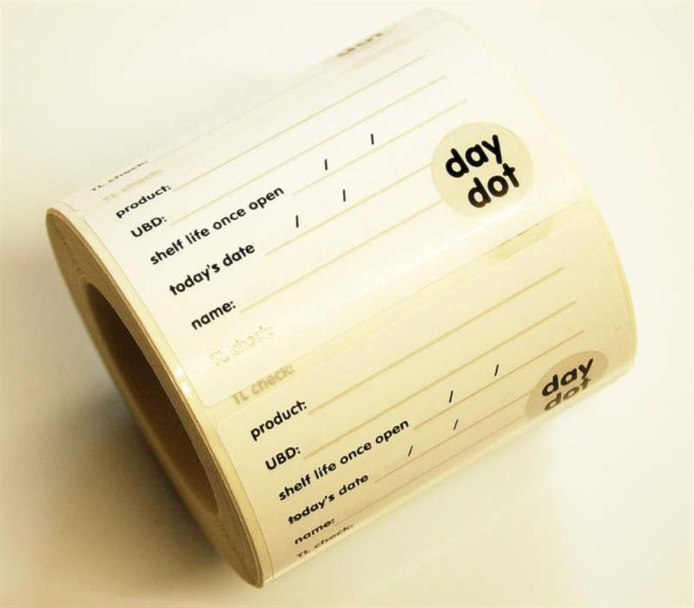 Day Dot Label Master Food Preparation Labels Printway